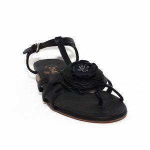 Chanel Camellia Flower Sandals